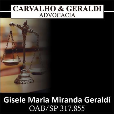 Advogada Gisele Maria Miranda Geraldi