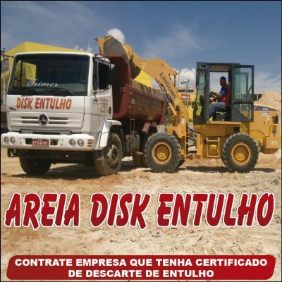 Areia Disk Entulho