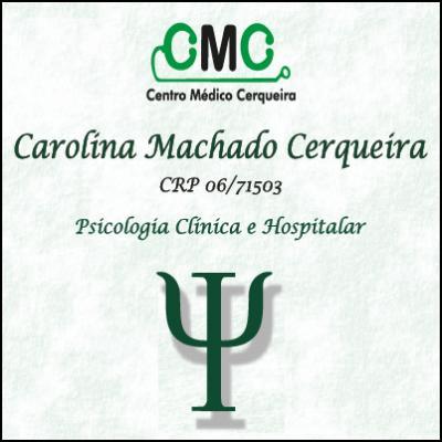 Carolina Machado Cerqueira Psicóloga