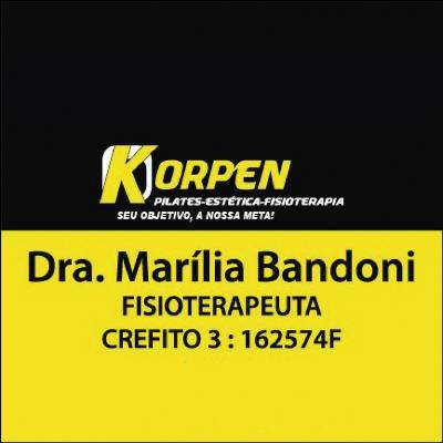 Dra. Marília Bandoni Fisioterapeuta