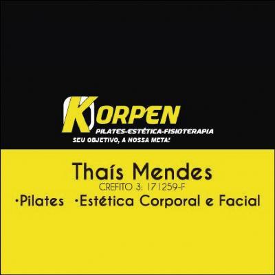 Dra. Thaís Mendes Fisioterapeuta