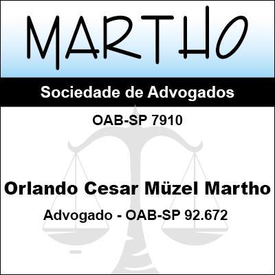 Orlando César Muzel Martho Advogado