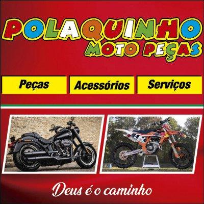 Polaquinho Moto Peças