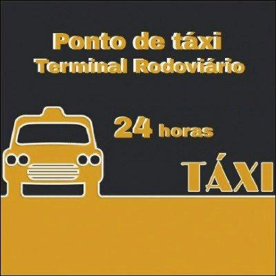Ponto de Táxi Camelô e Rodoviária