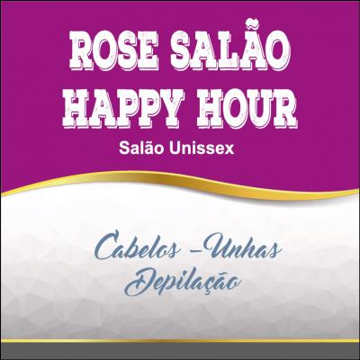Rose Salão Happy Hour